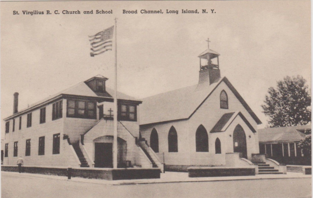 St. Virgilius Church and School, Broad Channel