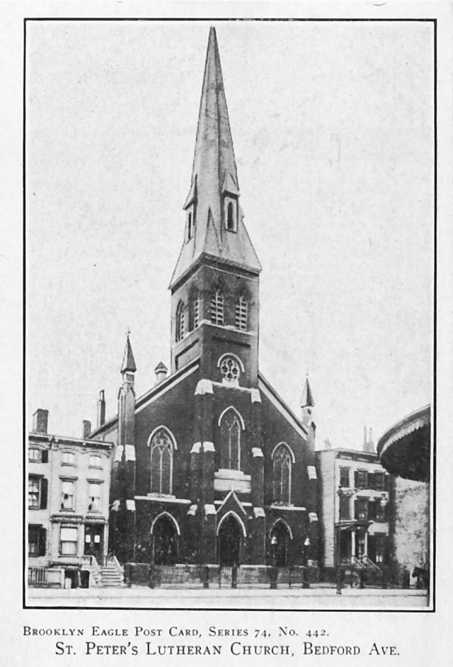 St. Peter Lutheran Church, Bedford Avenue
