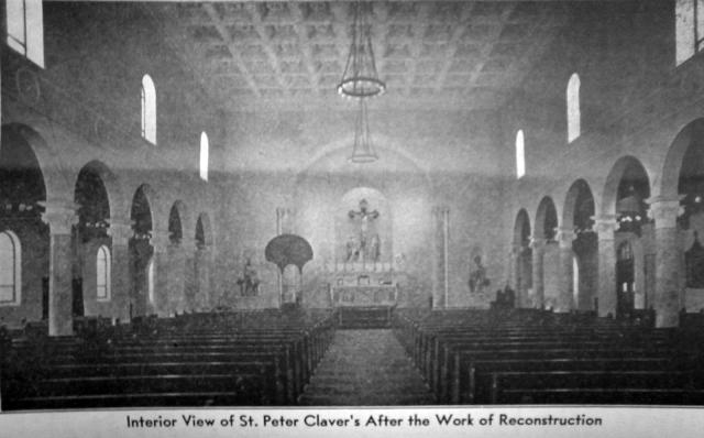 Claver Church Interior