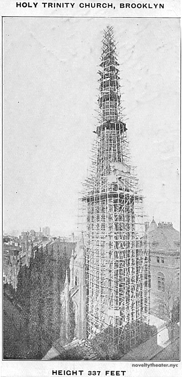 Holy Trinity Church Scaffold Advertisement