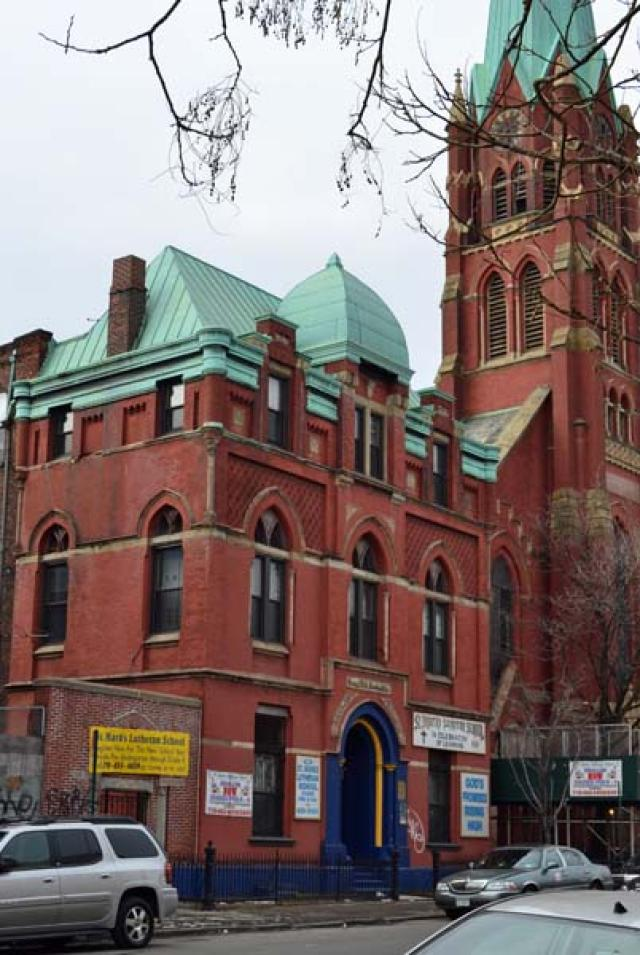 St. Mark's German Evangelical Lutheran School, Bushwick Avenue (2011)